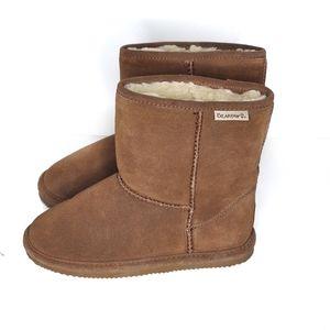 NWT BearPaw Eva Short Brown Boots